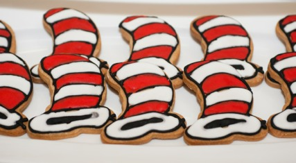 Dr. Seuss Wedding Cookies